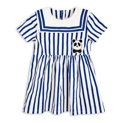 Mini Rodini Organic Cotton Striped Sailor Dress-product