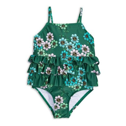 Mini Rodini Daisy Floral 1 Piece Swimsuit-product