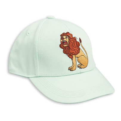 Mini Rodini Lion Embroidered Cap-listing