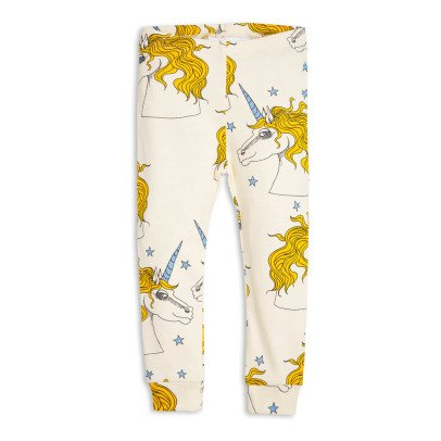 Mini Rodini Organic Cotton Unicorn Leggings-listing
