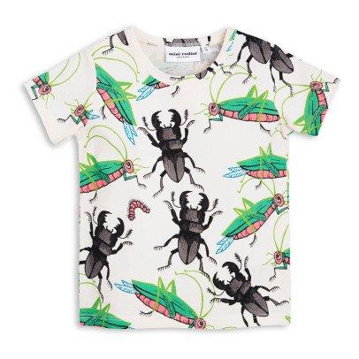 Mini Rodini T-shirt Insectes Coton Bio-listing