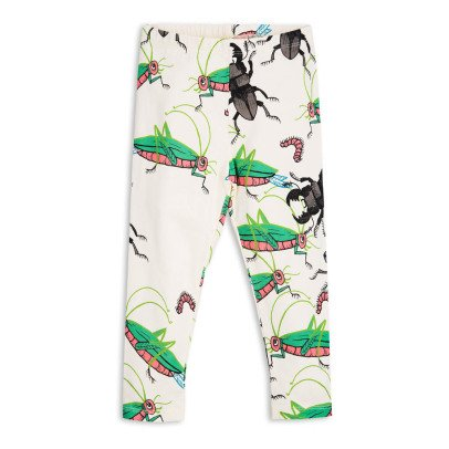 Mini Rodini Organic Cotton Insect Leggings-listing