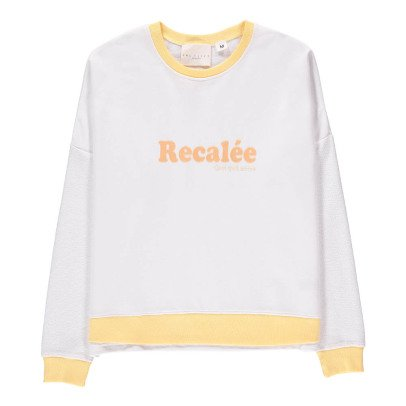 "UNE FILLE today I am Sweatshirt ""Recalée"" -listing"