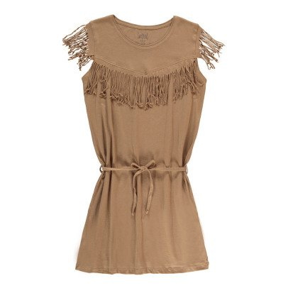 Swildens Teen Qobalt Fringe Dress-listing