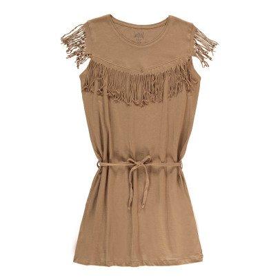 Swildens Teen Vestido Flecos Qobalt-listing