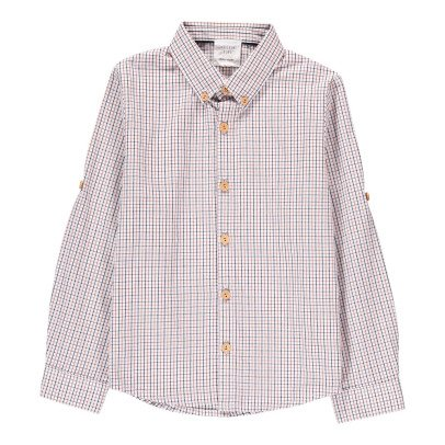 CARREMENT BEAU Checked Shirt-listing