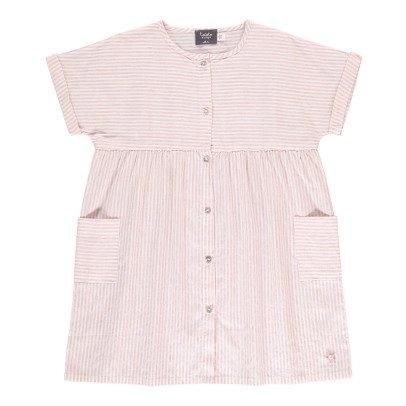 Tocoto Vintage Vestito Camicia Righe-listing