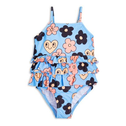 Mini Rodini Flower 1 Piece Swimsuit-listing