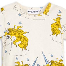 Mini Rodini Organic Cotton Unicorn T-Shirt-listing
