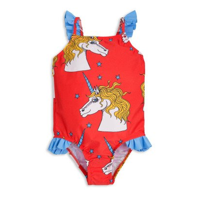 Mini Rodini Unicorn 1 Piece Swimsuit-listing