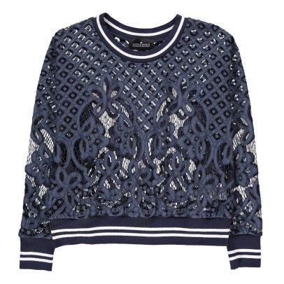 Little Remix Audrey Lace Sweatshirt-listing