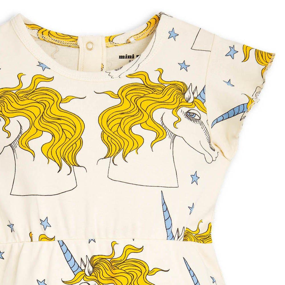 Organic Cotton Unicorn Ruffled Dress-product