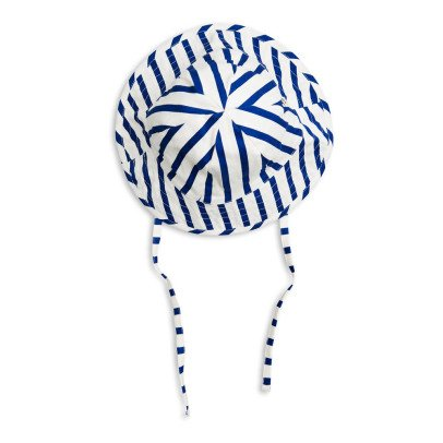 Mini Rodini Organic Cotton Striped Hat-listing