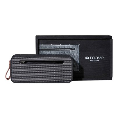 Kreafunk altavoz bluetooth aMove Black edition-product
