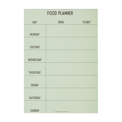 Design Letters Planning semana -listing