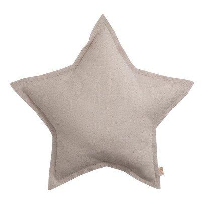 Numero 74 Cuscino stella tulle paillettes - Cipria-listing