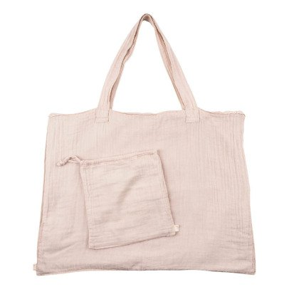 Numero 74 Cotton shopping bag and envelope - Powder-listing