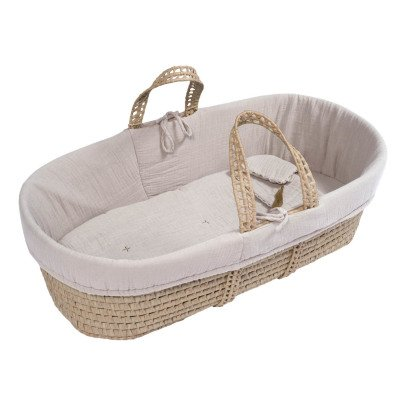Numero 74 Bassinet, Mattress and Linen - Powder-product