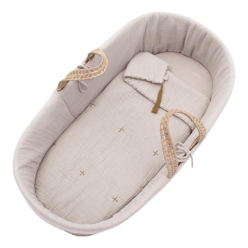 Numero 74 Capazo, colchón y manta - Empolvado-product