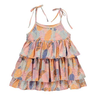 Lulaland Juliet Organic Cotton Tropical Dress-product