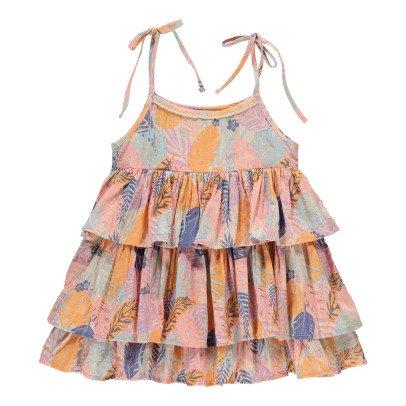 Lulaland Kleid aus Bio-Baumwolle Tropen Juliet -listing