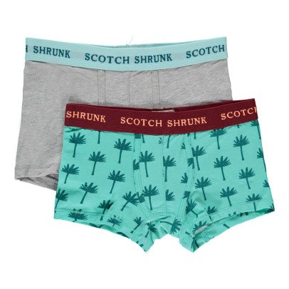 Scotch & Soda Turquoise Set of 2 Boxers-listing