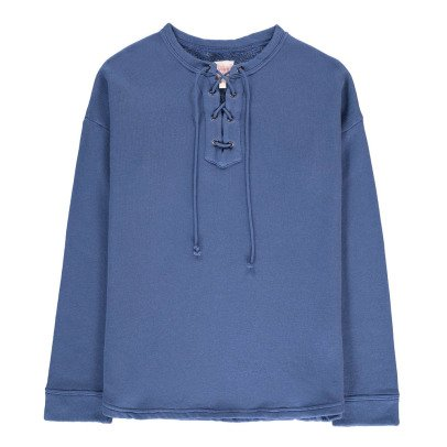 Swildens Teen Qoll Lace-Up Sweatshirt-listing