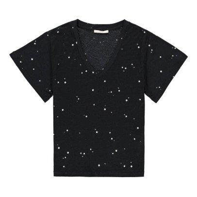 Sessun T-shirt Col V Pois Chet-listing
