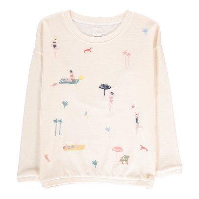 Des petits hauts Ivonne Embroidered Sweatshirt-listing