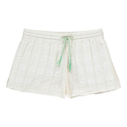 UNE FILLE today I am Shorts Ricami-listing