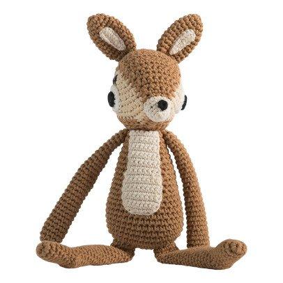 Sebra Peluche realizzato a crochet cerbiatto-listing