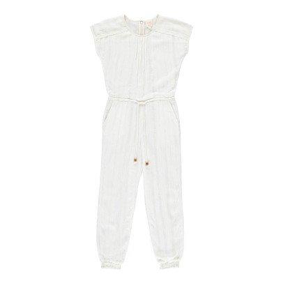 Swildens Teen Qana Lurex Striped Jumpsuit-listing