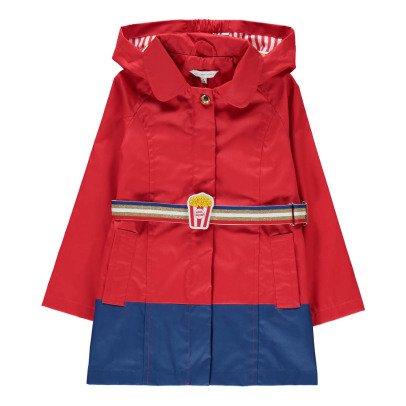 Little Marc Jacobs Popcorn Hooded Waterproof with Belt-product