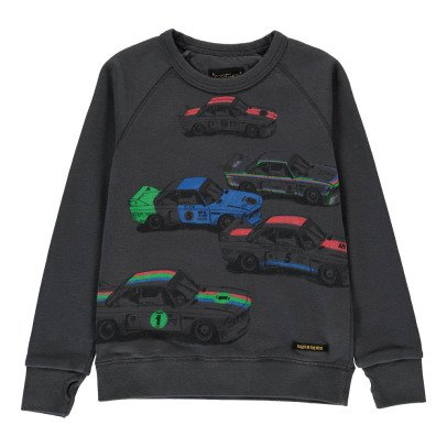 Finger in the nose Hank Car Sweatshirt-listing