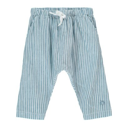 Tocoto Vintage Striped Harem Trousers-listing