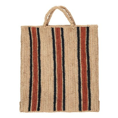 Soeur Friday Striped Raffia Bag-product
