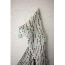 Moumout Cape de bain 80x80 cm mousseline de coton Dunes-listing