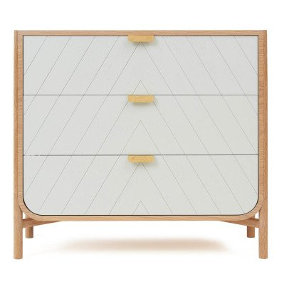 Hartô Commode à trois tiroirs Marius-listing