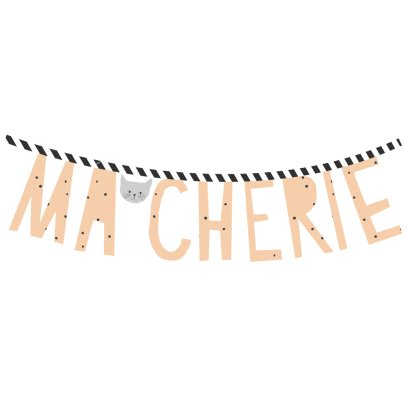 MIMI'lou Sticker Ma chérie	-product