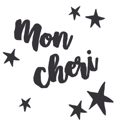 MIMI'lou Just A Touch Mon Chéri Sticker-listing