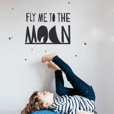 MIMI'lou Sticker Fly me to the moon-listing