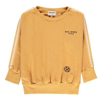 Bobo Choses Organic Cotton Football Sweatshirt-listing