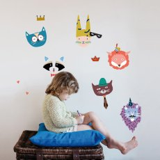 MIMI'lou Sticker Animal party	-listing