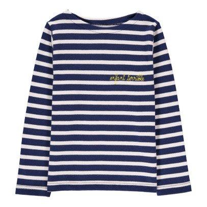 Maison Labiche Matrosenshirt bestickt Enfant Terrible  Navy-listing