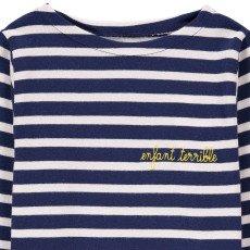 Maison Labiche Marinero Bordado Infantil Terrible Azul Marino-listing