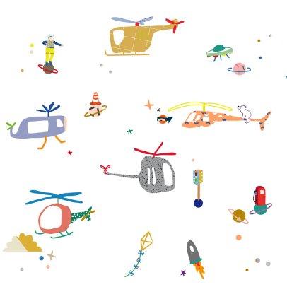 MIMI'lou Air Traffic Stickers-listing