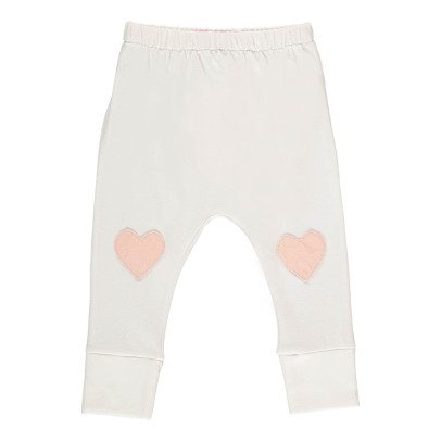 Moon et Miel Heart Patch Leggings-listing