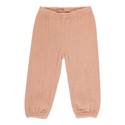 Moon et Miel Mael Waffle Trousers-listing