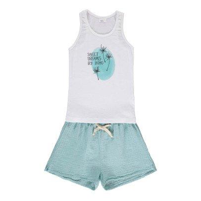 "Buho Pyjama + Shorts ""Sweet Dreams"" -listing"