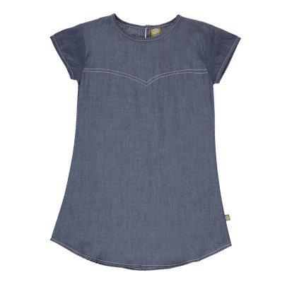 Nui Kleid aus Bio-Baumwolle Chambray Uma -listing